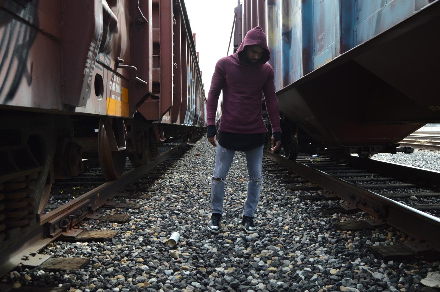 Hoodie: John Elliot Co Shirt: Represent Clothing Jeans: All Saints Shoes: Saint Laurent Paris